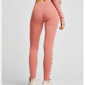 ff32139e9fbd6 adidas Pants | Rare Peach Leggings | Poshmark